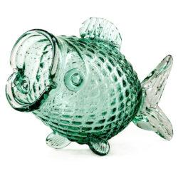 Deko-Gefäß 'Glas FETTER FISCH', extravagantes Objekt von Pols Potten - und praktisch zugleich...